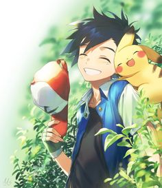 Ash & Pikachu | Pokemon