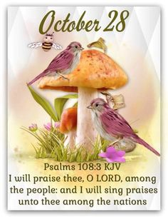 Daily Scripture, Scripture Verses, Bible Verses Quotes, Scriptures, October Calender, Calendar, Monday Blessings, King James Bible Verses, Days Of The Year