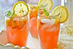 Freshly Brewed Ice Tea with Fresh Mint | Teas, Iced Tea and Mint