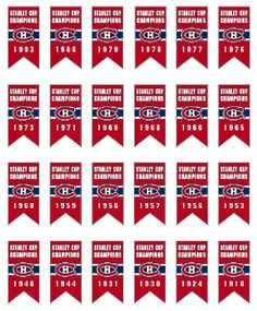 Montreal Canadiens Stanley Cup Banners Because .its about HOCKEY. Montreal Canadiens, Mtl Canadiens, Hockey Logos, Hockey Teams, Hockey Players, Ice Hockey, Hockey Stuff, Montreal Ville, Of Montreal