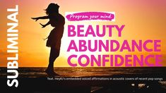 #SUBLIMINAL | Be beautiful, confident, charismatic & abundant | feat. He... One That Got Away, Acoustic Covers, Pop Songs, Social Media Channels, Beautiful Dream, Tarot Reading, Your Music, Decision Making, Love Reading