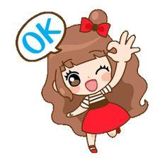 Cute Cartoon Pictures, Cute Love Cartoons, Gif Pictures, Love You Gif, Cute Love Gif, Cartoon Gifs, Girl Cartoon, Emoji Happy Face, Good Morning Love Gif