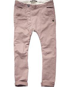 baggy denim look pants / scotch