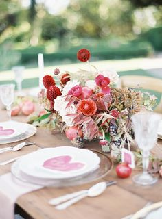 Pink Floral Centerpiece | Photography: Jessica Kay Photography - www.jessicakayphotography.com