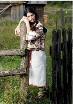 Ukraine, from Iryna Traditional Fashion, Traditional Outfits, Tribes Of The World, Ukraine Women, Folk Costume, Costumes, European Girls, Female Soldier, Ethnic Dress
