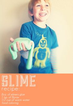 handmade slime.great for kids make it into a ball and it bounces good keep in zip loc bag when not playing with