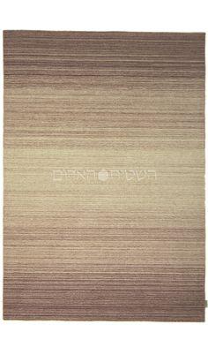 Pink Handmade Wool Flat Weave Rug