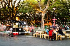 foodtruck festival on Behance
