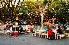 foodtruck festival on Behance