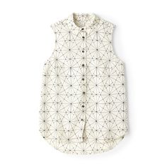 Fossil Laura Sleeveless Blouse| FOSSIL®