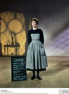 Julie Andrews costume test for The Sound of Music Hollywood Stars, Classic Hollywood, Sound Of Music Costumes, Julie Andrews, Dapper Day, The Best Films, Beautiful Costumes, Music For Kids, About Time Movie