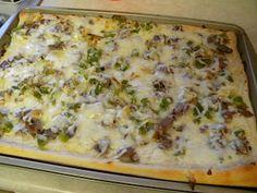 dinner, cheesesteak pizza, chees steak, food, steaks, pizzas, yummi, recip, philli cheesesteak