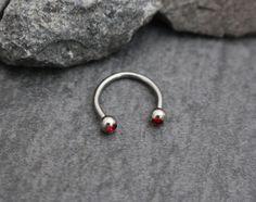 Septum Horseshoe Septum Ring Septum Jewelry Tongue by MyBodiArt