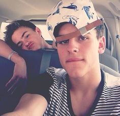 Johnson and Gilinsky <3 I prefer Johnson cause he's just so adorable and he has a babyface <3