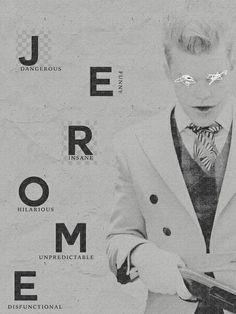 Jerome valeska Gotham Joker, Joker Art, Joker And Harley, Gotham Show, Gotham Tv Series, Jerome Gotham, Gotham City, Bae, Jokers Wild