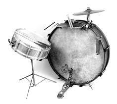 kit drums vintage