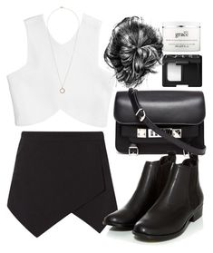 """""""Unbenannt #532"""" by style-setup ❤ liked on Polyvore featuring NARS Cosmetics, philosophy, Topshop and Proenza Schouler"""