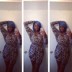 Leopard Love Dress | SWANK blue
