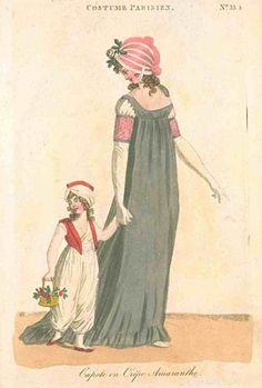 Journal des Dames et des Modes (published in Fashions of London and Paris)…