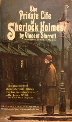 """""""The Private Life of Sherlock Holmes"""" by Vincent Starrett is one of the oldest biographies of the great detective. Sherlock Holmes, Sherlock Books, Sherlock Poster, Funny Sherlock, Sherlock Moriarty, Sherlock Season, Sherlock Quotes, I Love Books, Books To Read"""