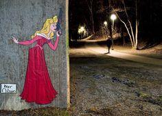 Street art by Herr Nilsson