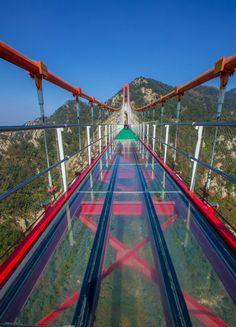 China's SCARIEST Glass Sky Bridges – The Top 6 #glassbridge #China