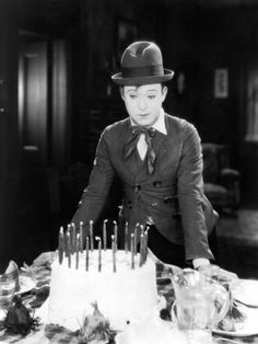 "Harry Langdon in ""Long Pants"" (1927). Director: Frank Capra."
