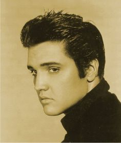 hair in the 1950s | Elvis Presley 1950's hair picture Boomers Pinups