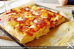 Pizzateig - schnell, einfach & lecker!