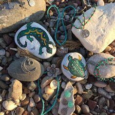 https://www.instagram.com/sunnydesignhandcraft/  #bohem #boho #stonepainting #paintedstones #hippie #bohemic #izmir #summer #yaz