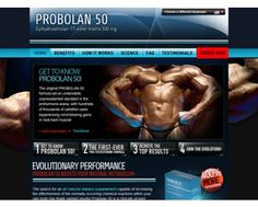 Probolan 50 Preparat na przyrost masy mięśniowej. - Probolan 50 | nasze suplementy