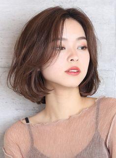 Korean Hairstyles Women, Redhead Hairstyles, Pretty Hairstyles, Hairstyles Haircuts, Asian Hairstyles, Japanese Hairstyles, Japanese Haircut, Ulzzang Short Hair, Asian Short Hair