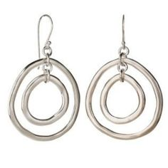 Sterling Silver Earrings from Magpie by sharron