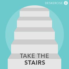How to Exercise at Work: The Stair Master