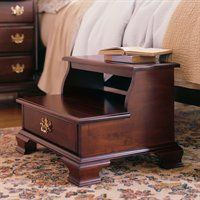 Step Stool Rice Bed Carved Beds For House