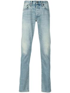 SIMON MILLER Stonewashed Slim-Fit Jeans. #simonmiller #cloth #jeans