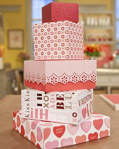 Boxes you can make using the Martha Stewart Scoring Board (using any kind of paper!)