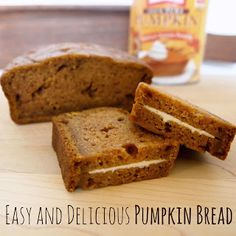Delicious and easy pumpkin bread. Perfect for fall!  from Cathey with an E