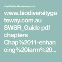 www.biodiversitygateway.com.au SWSR_Guide pdf chapters Chap%2011-enhancing%20farm%20dams.pdf