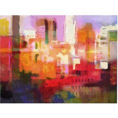 Trademark Art City Colors Canvas Art by Adam Kadmos, 18x24, Multicolor