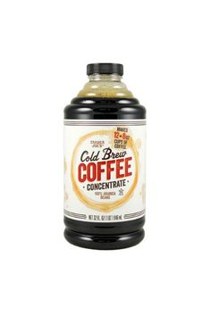 15 Cult-Favorite Trader Joe's Products That Are Impossible To Find #refinery29  http://www.refinery29.com/sold-out-trader-joes-products#slide-2  Cold Brew Coffee ConcentrateWe're big fans of the cold-brew trend, but don't like coughing up four or five bucks for a cup. TJ's cold-brew concentrate is an easy fix, so when it's available we grab as many bottles as we can carry....