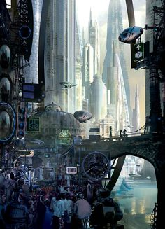 Stephan Martiniere: The Future Will Be Bio-Mechanical