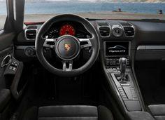 Porsche Cayman GTS Interni
