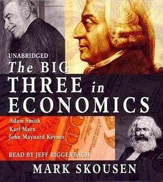 The Big Three in Economics: Adam Smith, Karl Marx, and John Maynard Keynes for AUD61.95 #Books #Magazines #Audio #Economics  Like the The Big Three in Economics: Adam Smith, Karl Marx, and John Maynard Keynes? Get it at AUD61.95!
