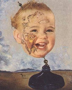 Dali, Baby Map of the World, 1939