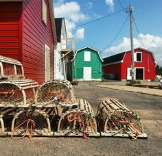 Week In-stagram Review PEI: The colorful fishing village of French River