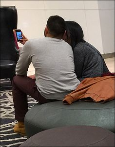 My interest was the accommodations for my thread on Seating Amenities in retail. But who could resist documenting lovers at the Mall and this Store Seating Selfie Spells Romance. Do consider the Mushroom and contrasting Wing Back Chair seating. Sitting Area, Benches, Spelling, Close Up, Mall, Romance, Selfie, Stuff Stuff, Living Room