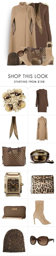 """""""The Key To Overcoming A Fear Of Public Speaking - Render Everyone Else Speechless"""" by sharee64 ❤ liked on Polyvore featuring Chanel, Louis Vuitton, Agnona, Guerlain, Patek Philippe, Dolce&Gabbana, MICHAEL Michael Kors, Jean-Michel Cazabat, 360 Sweater and Gucci"""