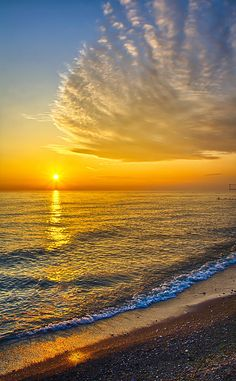 ~~Sunrise 10-30-13 ~ Lake Michigan, Chicago, Illinois by Michael Bennett~~