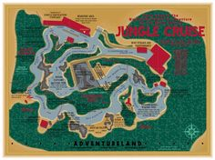 The Jungle Cruise poster - Jonah Adkins